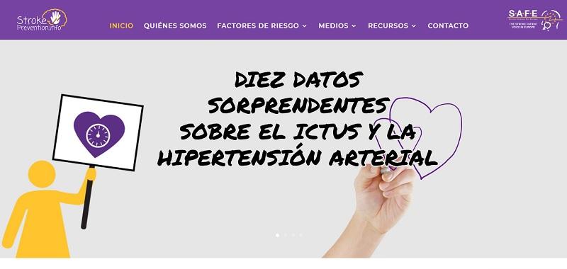 SAFE LANZA UN SITIO WEB PARA LA PREVENCIÓN DEL ICTUS